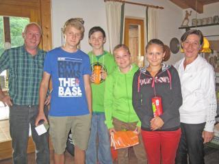 Tag der offenen Tür: Siegerehrung-Jugend
