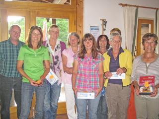 Tag der offenen Tür: Siegerehrung-Damen