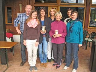 TCB-Clubmeisterschaft-2013: Damen- und Herren-Doppel