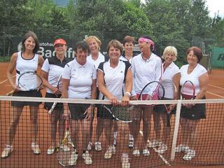 TCB-Mannschaft Damen-50