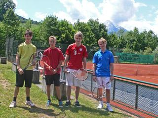 TCB-Mannschaft Junioren-18
