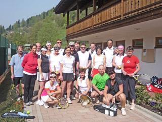 Freundschaftsturnier mit den Tennisfreunden-Schönau