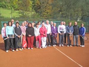 Mixed-Turnier zum Saisonabschluss am 12.10.2013