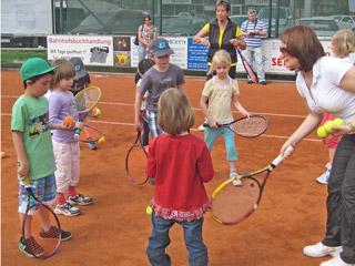 """""""Deutschland spielt Tennis"""" beim TCB"""