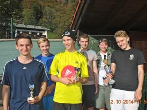 TCB-Clubmeisterschaften der Jugendlichen 2014
