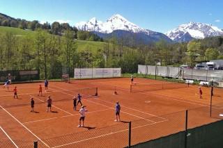 Berchtesgaden spielt Tennis - am 30.04.16 beim TCB