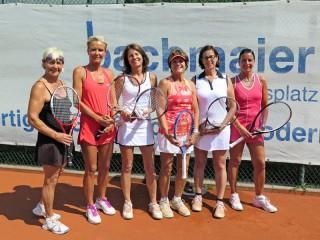 TCB-Damen-50 am 25.06.16 gegen TC Weilheim