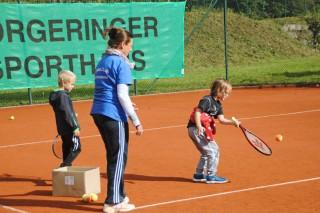 Clubmeisterschaft der Kinder und Jugendlichen beim TCB am 09.10.16