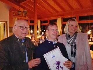TCB: Ehrung 25 Jahre Mitgliedschaft Thomas Horn