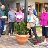 TCB-Frühjahrsinstandsetzung-2018: Gratulation zum 75. von Karl Bankhofer