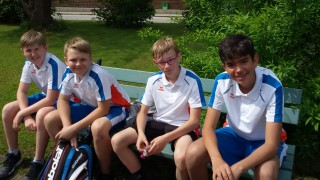 Tennisjugend U14-Gruppe