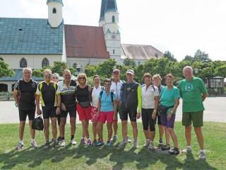 Radlausflug nach Altötting am 16.08.18