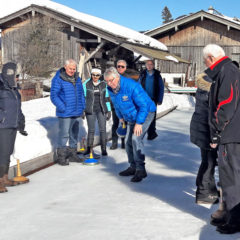TCB-Eisstockschießen am 17.02.19