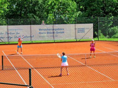 TCB-Damen-50 - Spiel gegen SV Schechen