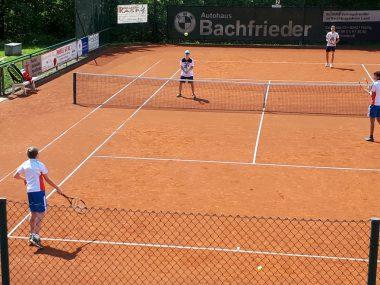 TCB-Jugend beim Spiel gegen Siegsdorf