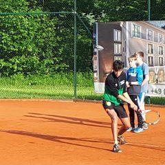 TCB-Jugend beim Training