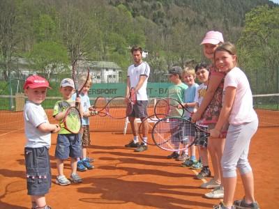 Aktion Deutschland spielt Tennis