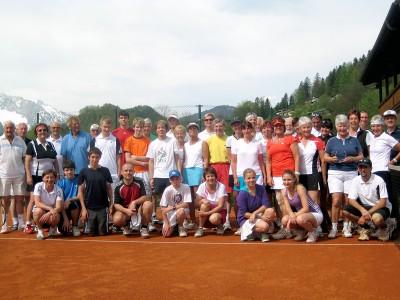Teilnehmer des Eröffnungsturniers
